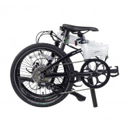 Dahon Launch D8 Folding Bike White and Black