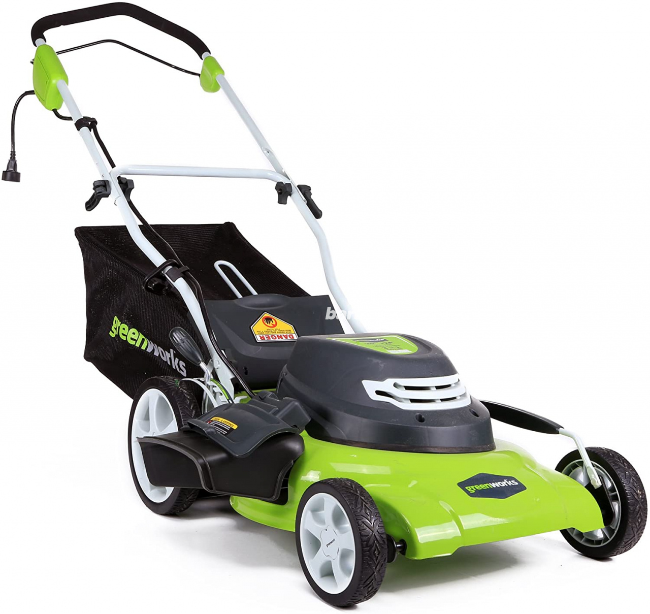 Greenworks 20-Inch 3-in-1 12 Amp Electric Corded