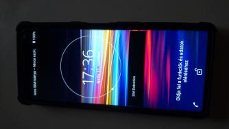 Sony Xperia 10 64GB-s független, 2 kártyás, garanciális telefon eladó  44700 Ft