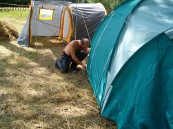 Outdoor kétszemélyes sátor