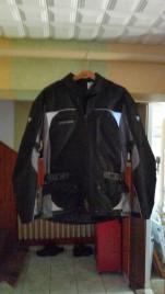 Kordura motoros kabát