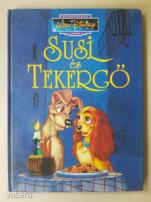 Elado Walt Disney Sorszámozott Konyv Susi es Tekergo