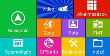 Wayteq x995 Android GPS + Sygic 3D EU, Sygic Voucher navigációval