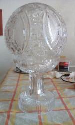 Elado Kristály Asztali Lámpa