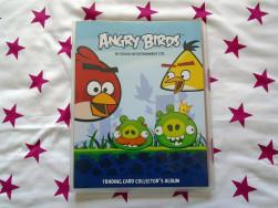 Angry Birds gyűjtőalbum 79db kártyával