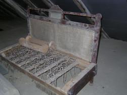 Antik kanape keret