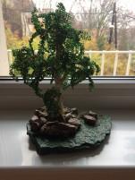 Gyöngyös fa kő