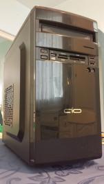 Komplett PC számítógép konfiguráció (AMD X2 250 3GHz, 160GB HDD, 2GB DDR3, DVD-író, kártyaolvasó)