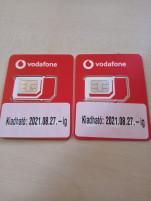 Új Vodafone SIM kártya nagyon jó számmal 70 730-5108/730-5109