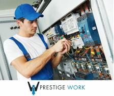 Ausztriai ipari villanyszerelői pozíció munkaszerződésre