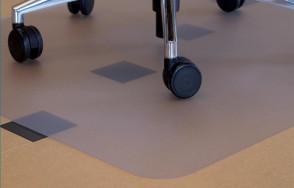 Padlóvédő , görgősszék - , fitnessgép alátét - 75 x 120 cm