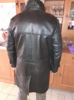 XL_es, Szép, Mongol félhosszú bőrkabát!