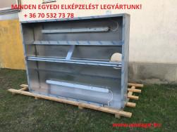 Új Ipari rozsdamentes elszívó ernyők raktárkészletről - díjmentes kiszállítás