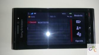 Sony Ericsson Satio U1 kitűnő telefon eladó 24900 Ft-rt