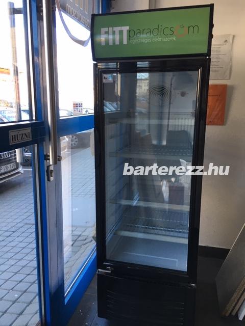 Üvegajtós hűtővitrin LG-220X