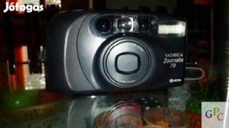 Yashica Zoomate 70 analóg fényképezőgép eladó 9990 Ft-rt