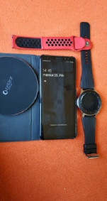 Samsung S8&Samsung Galaxy Watch 46mm, mind a kettő garanciás,olvass