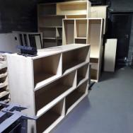 Polcok, nyitott polcos szekrények