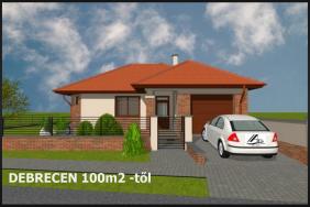 Új építésű családi ház,az új tulajdonossal készítjük el a ház tervét