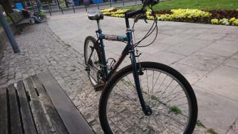Shimano O'Bike 26 colos gyöngyház-metál-kék bicikli eladó 24990Ft