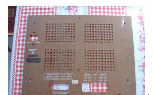 Akai gx-4000d magnó farost hátlap lemeze bontásból és egyebek - FoxPost 700-ért!