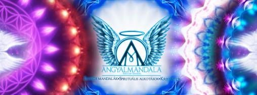 Angyalmandala - Egyedi mandalák, kristály -ásványékszerek, alkotások