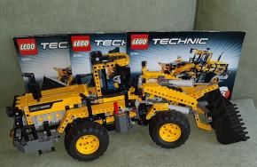 Lego kocsi autó technik ház
