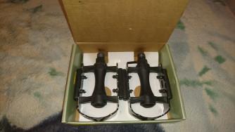 Wellgo fekete pedálpár eladó 2990 Ft-t