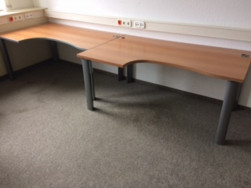 Barna sarok íróasztalok