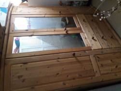 Tükrös gardrób szekrény