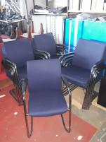 Szánkótalpas székek