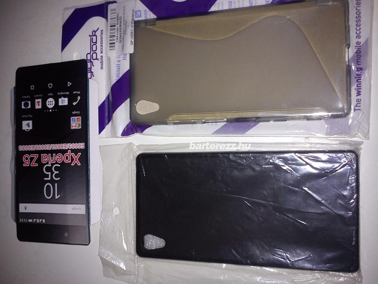 Sony Xperia Z5 (E6653) készülékhez, füstszínű gumi/szilikontok 1090Ft