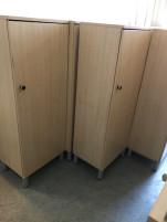 1 ajtós juhar szekrények