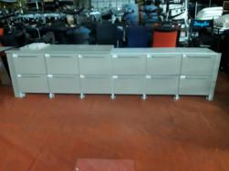 Fiókos szekrény, függőmappás rendszer