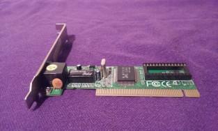 Eladó Mercury 10-100 Mbps Hálókártya