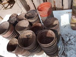 1000db müanyag Virágcserép kaspó ültető cserép 10-12cm óbuda eladó egybe vagy válogatva
