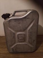Katonai Üzemanyag fém kanna, 20 liter