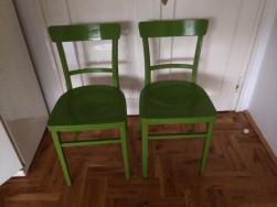 Antik 1890-evek 2 db. fa székek