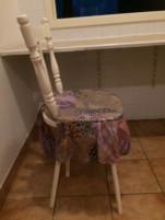 Gyerek magas szék dísz parnaval (Felnotnek is!)
