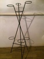 Fuszer vagy virag tarto alvany (7 darabos, vas)