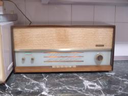 WEGA 139 működő csöves rádió használatban van jelenleg is FM sávon - Hódmezővásárhely