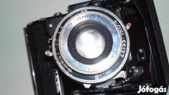 Zeiss Ikon Nettar 515 Objektiv Novar Anastigmat 4,5 f=7,5cm 1937-ből
