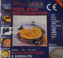 Új elektromos pizzasütő eladó