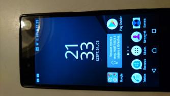 Sony Xperia Z5 Dual E6683 zöld színű, független telefon eladó 34990 Ft-rt