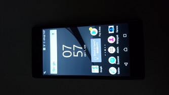 Sony Xperia Z5 E6653 szürke színű, független telefon eladó 26990 Ft