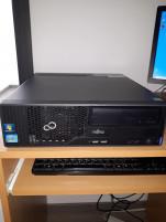 Eladó több db Fujitsu E500 i3 2.gen számítógép új 120gb ssd+320gb hdd. 6 hó gari