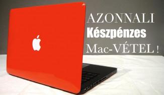 Apple Vétel-Felvásárlás !Azonnali fizetéssel Macbook Pro ,Air ,iMac ,iPad ,iPhone ,Watch