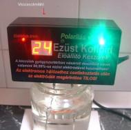 Ezüst kolloid előállító készülék polaritás váltással és kijelzővel - FoxPost 800