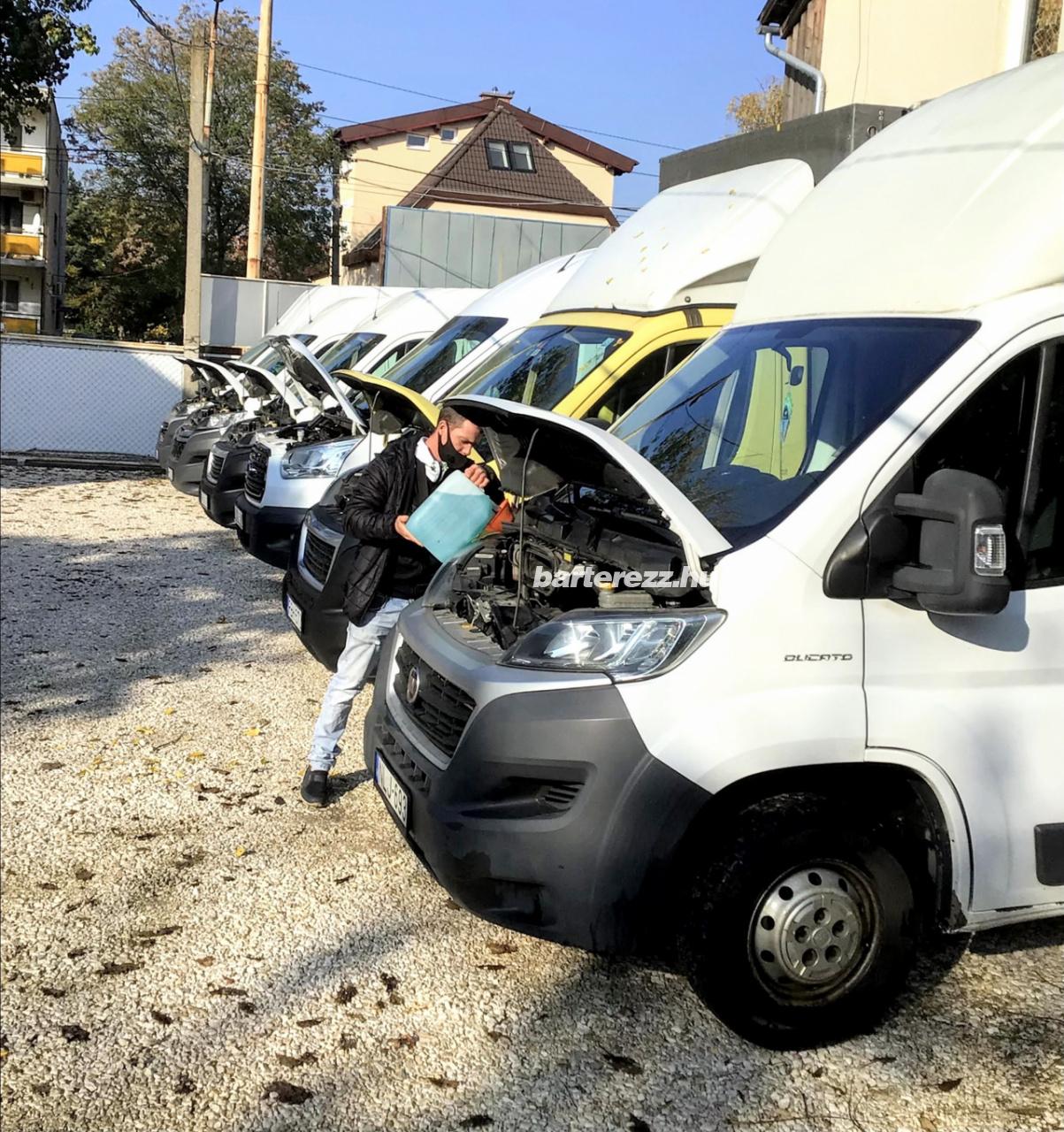 Teherautó/ sofőr  bérlés akár  külföldre  is