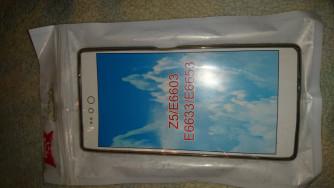 Sony Xperia Z5 (E6653) készülékhez, füstszínű gumi/szilikontok 2490Ft
